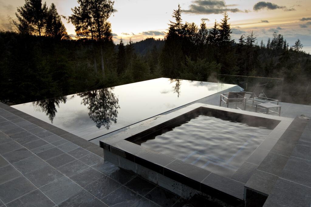 concrete swimming pool bowen island