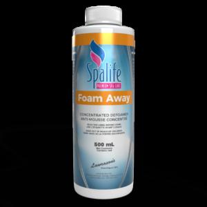 spa life foam away